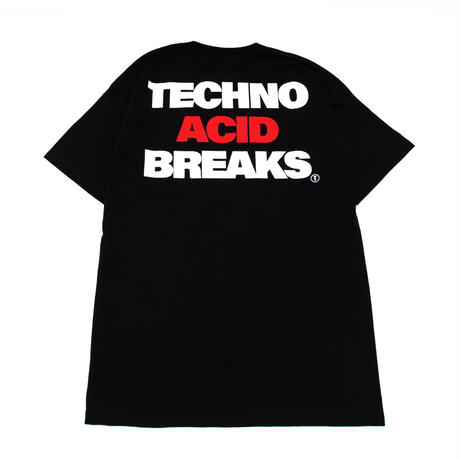 【TONGPOO CLOTHING】TECHNO ACID BREAKS S/S TEE - BLACK(TNP-08TE-BK)