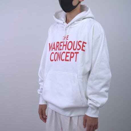 【TONGPOO CLOTHING】TWC BIG ICON HOODIE  - WHITE(TNP-01HD-WH)