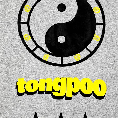 【TONGPOO CLOTHING】YIN YANG S/S TEE - GREY(TPSS-003-GR)