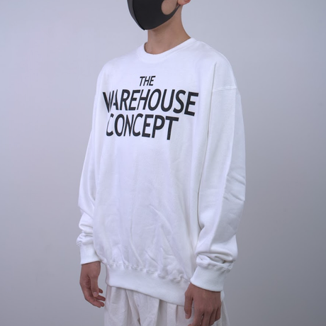 【TONGPOO CLOTHING】TWC BIG ICON CREW  - WHITE(TNP-02CW-WH)