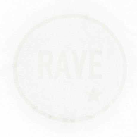 """【TONGPOO CLOTHING】2021 RAVE S/S TEE - WHITE """"PHOSPHORESCENT 蓄光""""(TPSS-002-WH)"""
