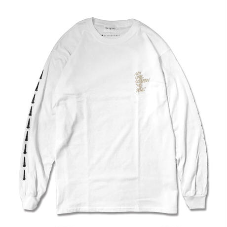 【CHARITY ITEM】NO WALL L/S TEE BEIGE