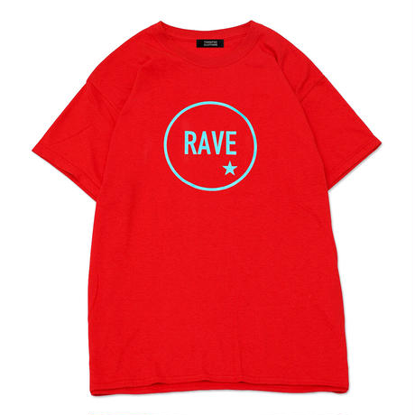 【TONGPOO CLOTHING】2021 RAVE S/S TEE - RED(TPSS-002-RD)