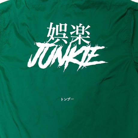 【Tongpoo】GORAKU JUNKIE COACH JACKET  - GREEN(TNP-13JK-GN)