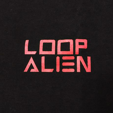 【Tongpoo / Tongpoo videos】LOOP ALIEN  S/S TEE - BLACK/RED(TPSS-SOSO-BKRD)