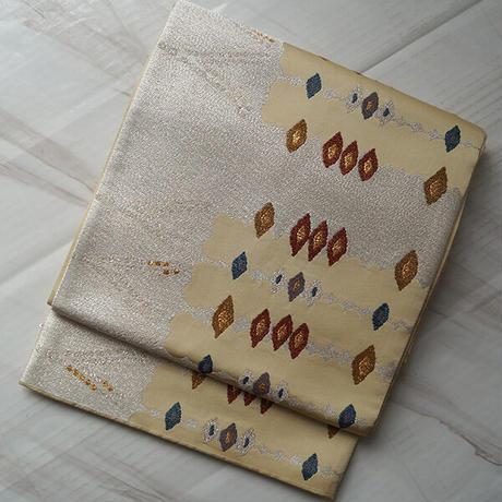 【ふくろ帯】抽象文 変わり菱型 ふくろ帯