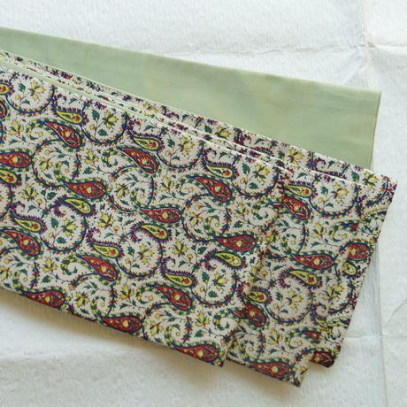 アンティーク更紗(正絹) 半幅帯