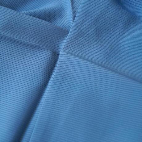 【夏・絽】青色 絽色無地