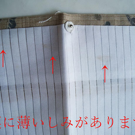 【夏・紬】白橡色 御所解き文 夏紬