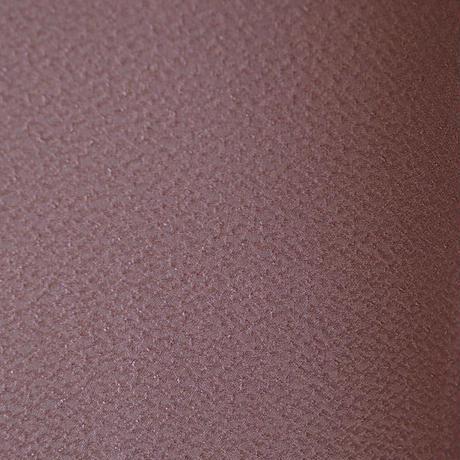 【袷】パープルピンクの色無地一つ紋