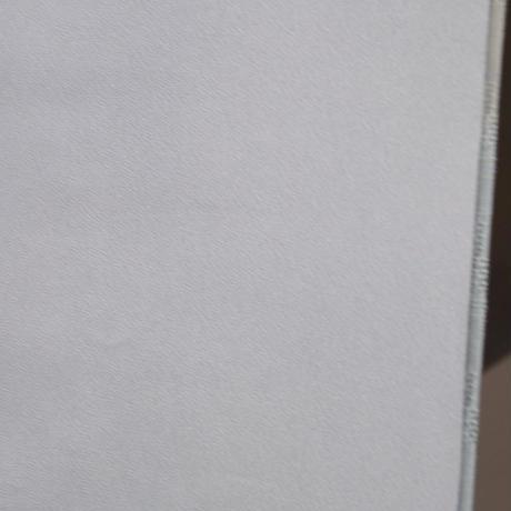 【袷】青磁鼠色暈し 京花織調 附下紬 5k52