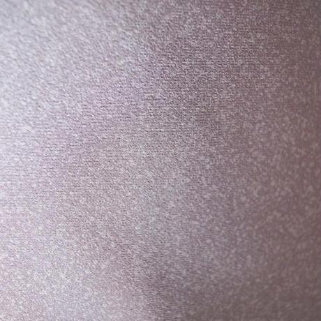 【袷】トールサイズ梅鼠色の色無地・一つ紋
