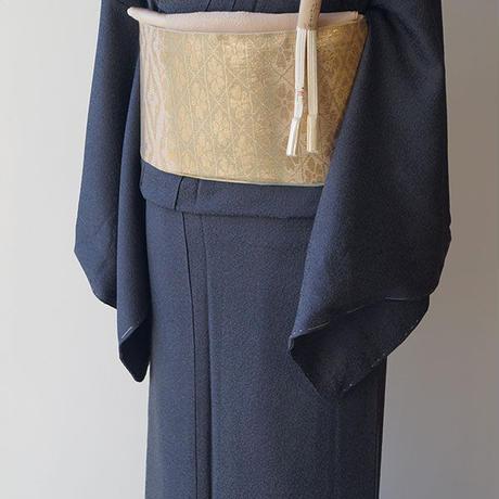 【ふくろ帯】横段に松皮菱文 御寮織ふくろ帯