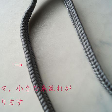 【帯締め】灰色 帯締め No.210429b