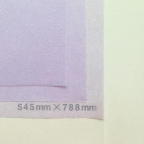 藤色 14g    545mm × 394mm  100枚