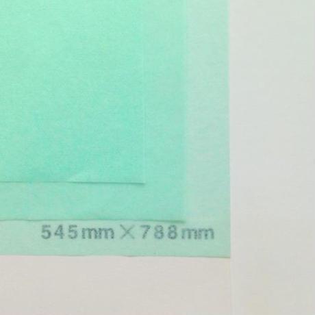 ライトグリーン 14g 545mm × 788mm 50枚