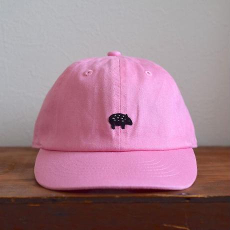 子供用キャップ マレーバク 子×ピンク