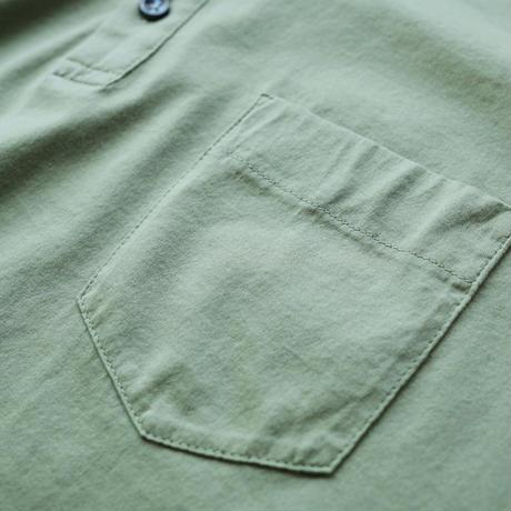 "Capobianco ""smooth cotton"" henry neck"
