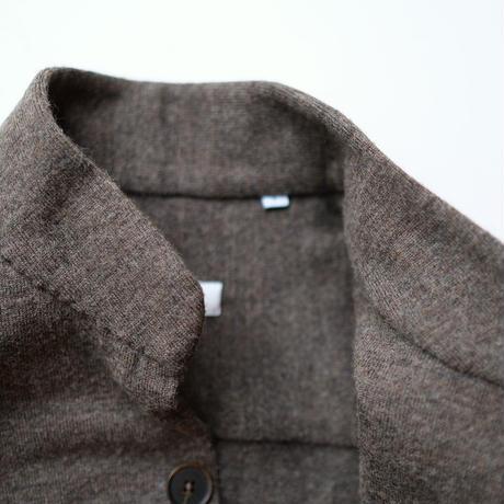 【100HANDS】stand collar blouson