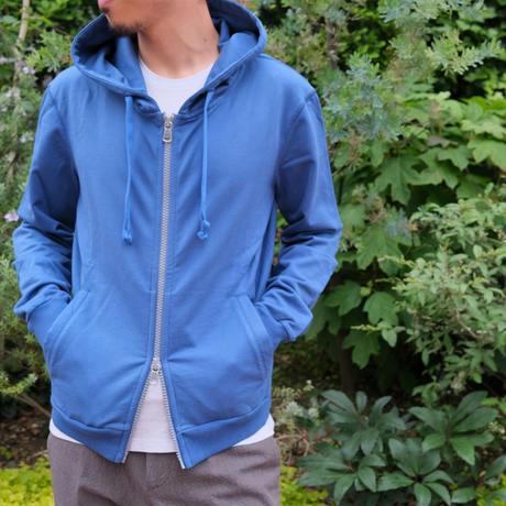 FEDELI  cotton-hoodie blue