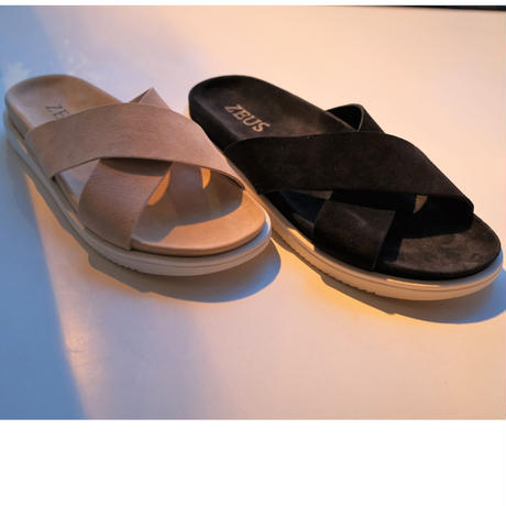 OYSTER別注 ZEUS  leather sandal  white sole