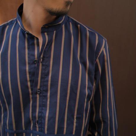 Massimo d'Augusto   band collar shirts navy