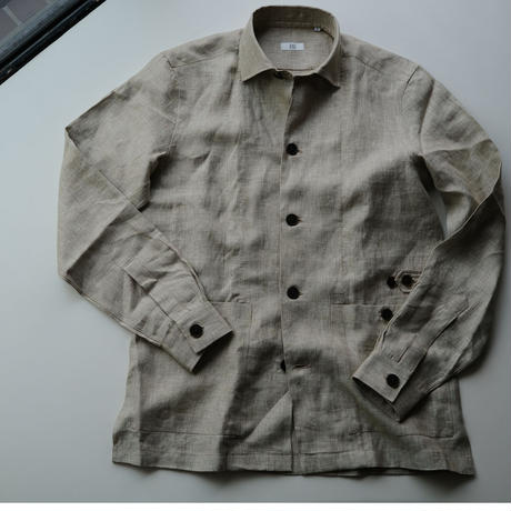 100HANDS  over-shirts linen