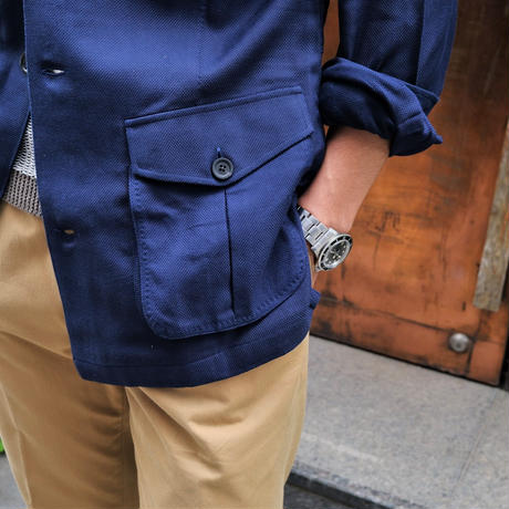 100HANDS  safari jacket