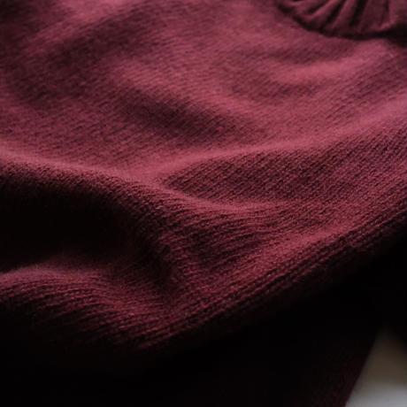 【FEDELI】mock neck knit