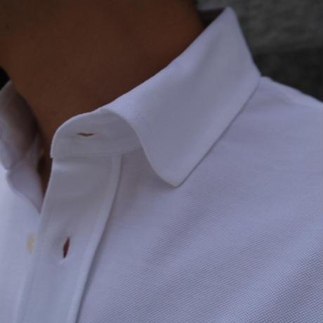 FILIPPO DE LAURENTIIS pilot shirt  white