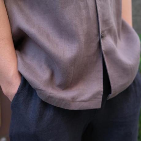 Massimo d'Augusto   half-sleeve shirts linen100%