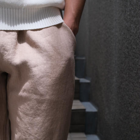 FEDELI easy-pants 100%linen