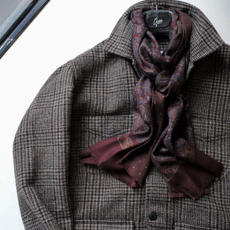 【Salvatore Piccolo】work jacket  brown