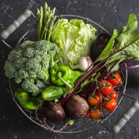 熊本県天草市の「自然栽培」お任せ旬の野菜セット Sサイズ(クール便)