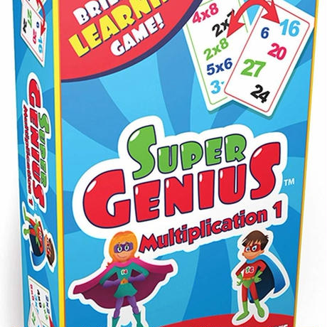 【SUPER GENIUS】Multiplication 1