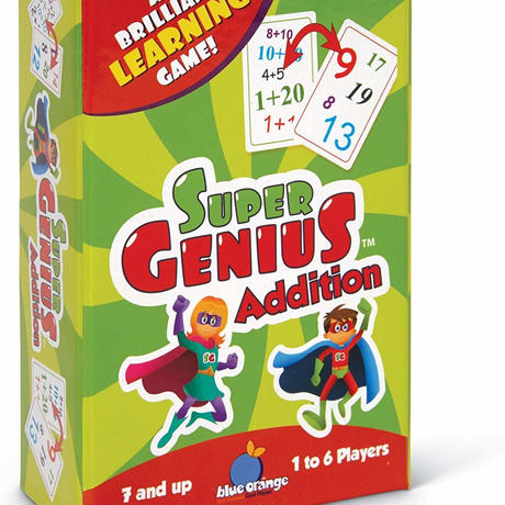 【SUPER GENIUS】Addition