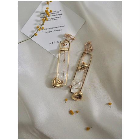 GLASS DESIGN  PIERCE & EARRING