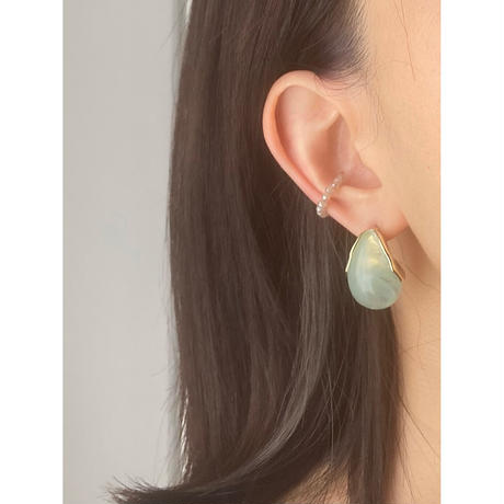 STONE EAR CUFF