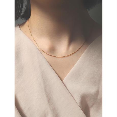 SNAKE NECKLACE (GOLD)