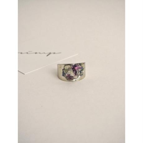 ⦅HOMME⦆DRY FLOWER RING