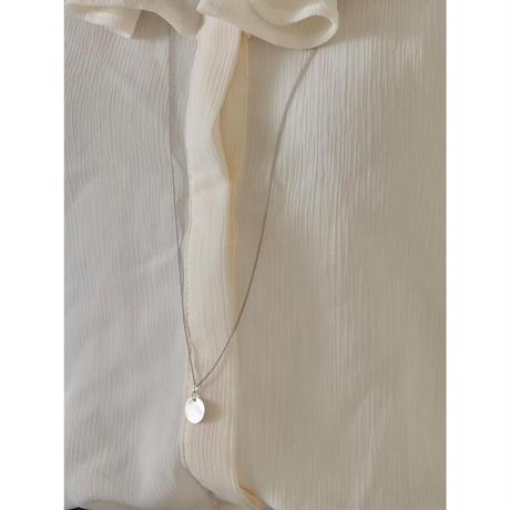 PLATE LONG NECKLACE