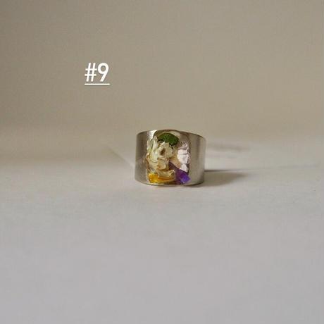 DRY FLOWER  RING(silver)