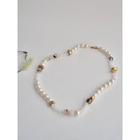 BEADS MASK CHAIN NECKLACE #2