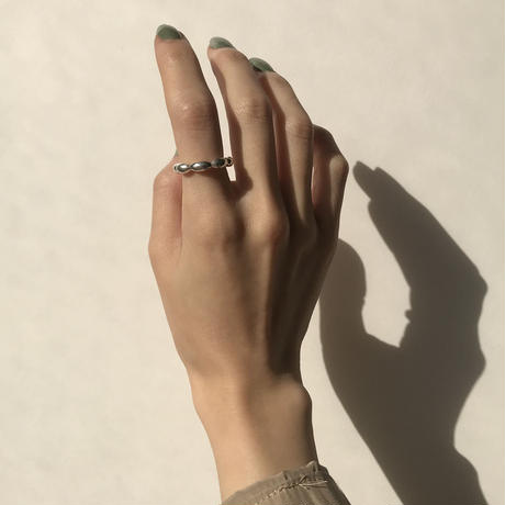 【SILVER 925】BALL CHAIN RING