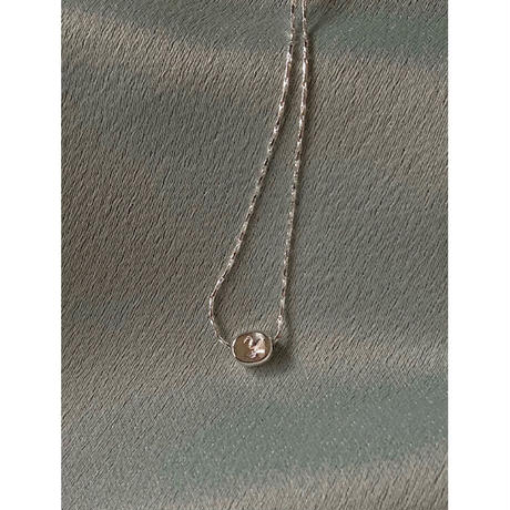 INITIAL DAY NECKLACE(刻印込)