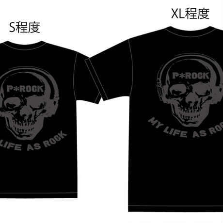 MY LIFE AS ROCK Tシャツ バックプリント