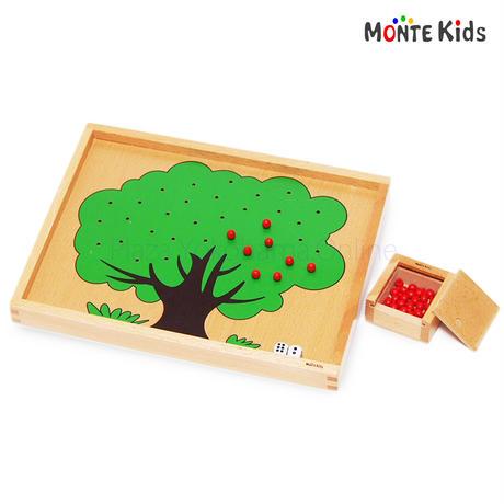 【MONTE Kids】MK-006  りんごの木