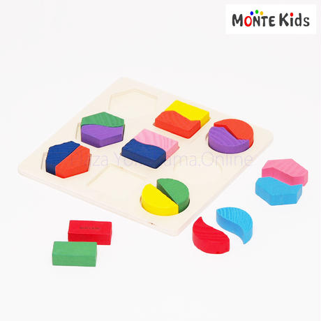 【MONTE Kids】MK-015  図形パズル C ≪OUTLET≫