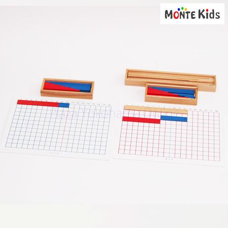 【MONTE Kids】MK-058  足し算・引き算板セット