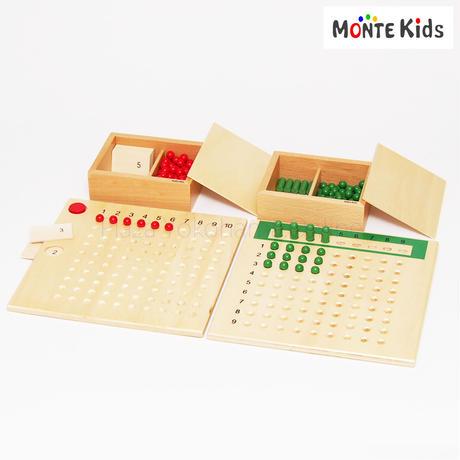 【MONTE Kids】MK-022   掛け算・割り算板セット